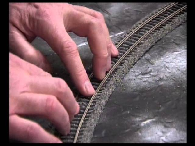 Make A Simple Model Railway Part 3 Track Laying Youtube