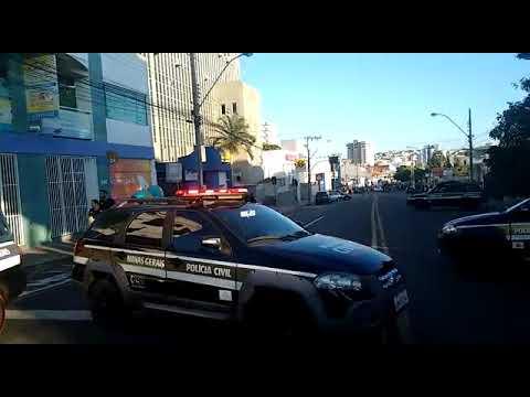 Ataque a bancos mobiliza polícia em Passos, no Sul de Minas