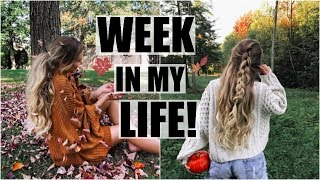 Transitioning Into Fall // A Week In My Life