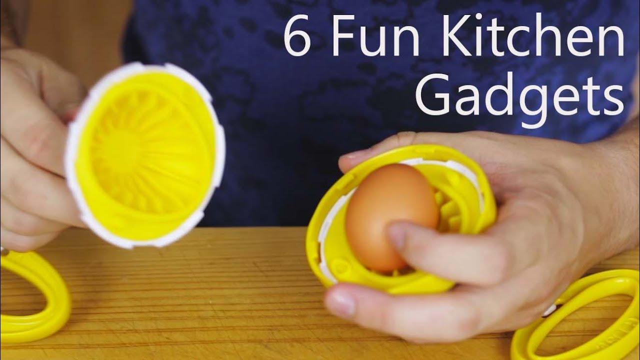 6 Fun Kitchen Gadgets  YouTube