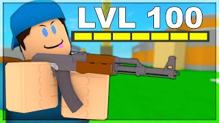 how many LEVELS can I get in 1 Hour.. (Roblox Arsenal)