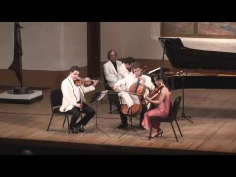 Brahms G minor Piano Quartet Live from Santa Fe 5/5