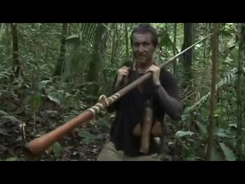 Bruce Parry Learns To Hunt With A Blowpipe | BBC Studios