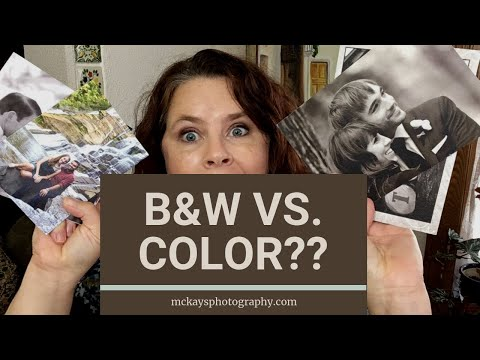 Wedding Photography 101: Color vs B&W when editing wedding photos