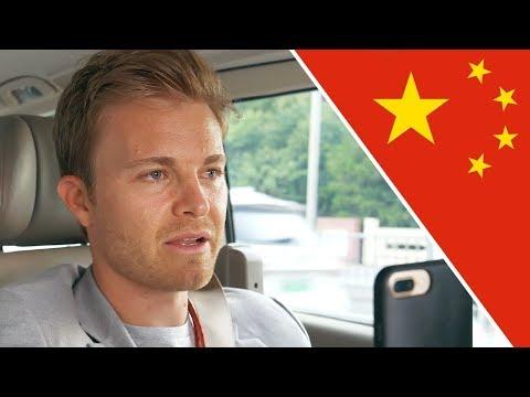 REACTING TO HAMILTON, VERSTAPPEN AND RICCIARDO FROM F1 CHINA GP   NICO ROSBERG   UNCUT