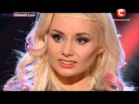 Видео: Х-фактор-5 Кондратюк подарил Ирине мандарины Второй прямой эфир15.11.2014