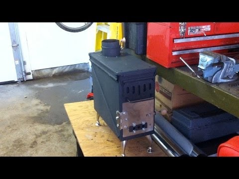 20mm Ammo Can Stove
