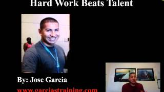 """Hard Work Beats Talent"" 