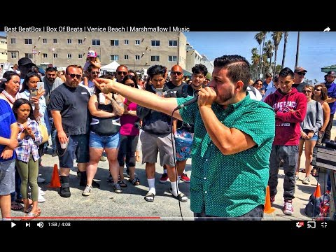 Best BeatBox | Box Of Beats | Venice Beach | Marshmallow | Music
