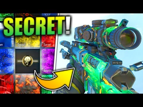 HOW TO GET THIS *SECRET* CAMO IN BLACK OPS 3!