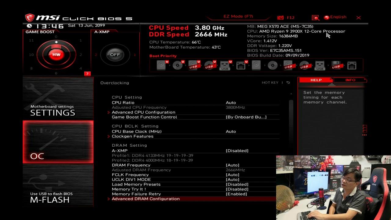 AMD RYZEN 3000系列 新7NM系列 CPU架構 超頻相關中篇 - YouTube