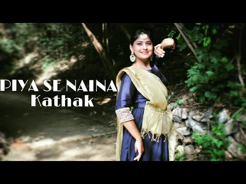 Coke Studio-Piya Se Naina   Sona Mohapatra   Kathak Dance Cover  Radhika Arora