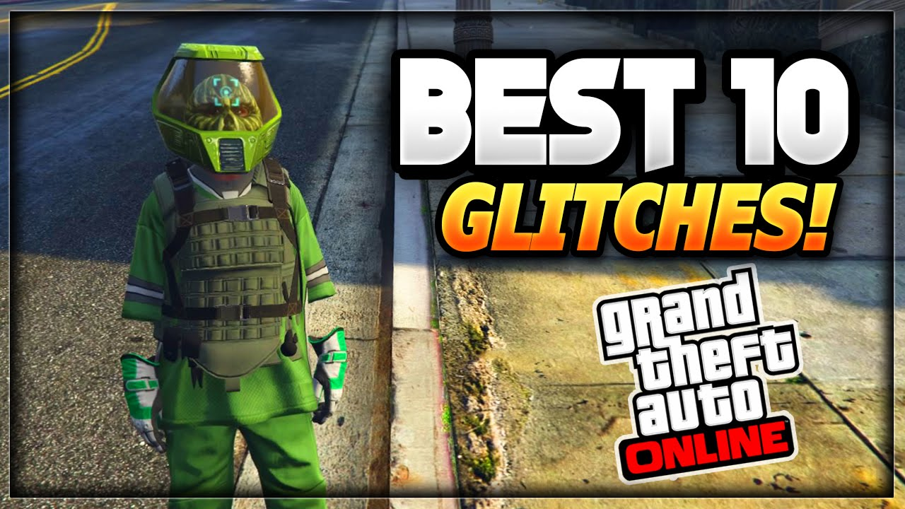 GTA 5 Online - ''TOP 10 WORKING GLITCHES'' 1.35/27 (Shoot ...