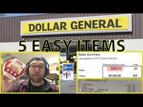 5 DOLLAR GENERAL ITEMS ANYONE CAN FLIP FOR MASSIVE PROFITS (MAKE $25K/YEAR SPENDING 30 MIN/DAY)