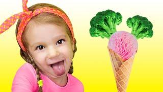 Детская Песня - Ты любишь брокколи с мороженым? Do you like broccoli ice cream?