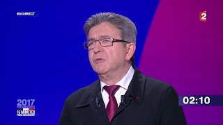 Far Left Leader Jean Luc Mélenchon   criminals will never go unpunished in this society