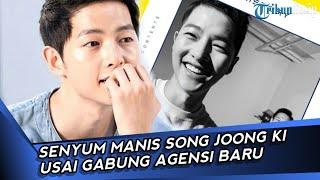 Lama Tak Terlihat, Senyum Song Joong Ki Usai Gabung Agensi Baru
