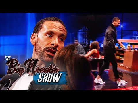 Angry Rio Ferdinand WALKS OFF the show! | The Big Narstie Show
