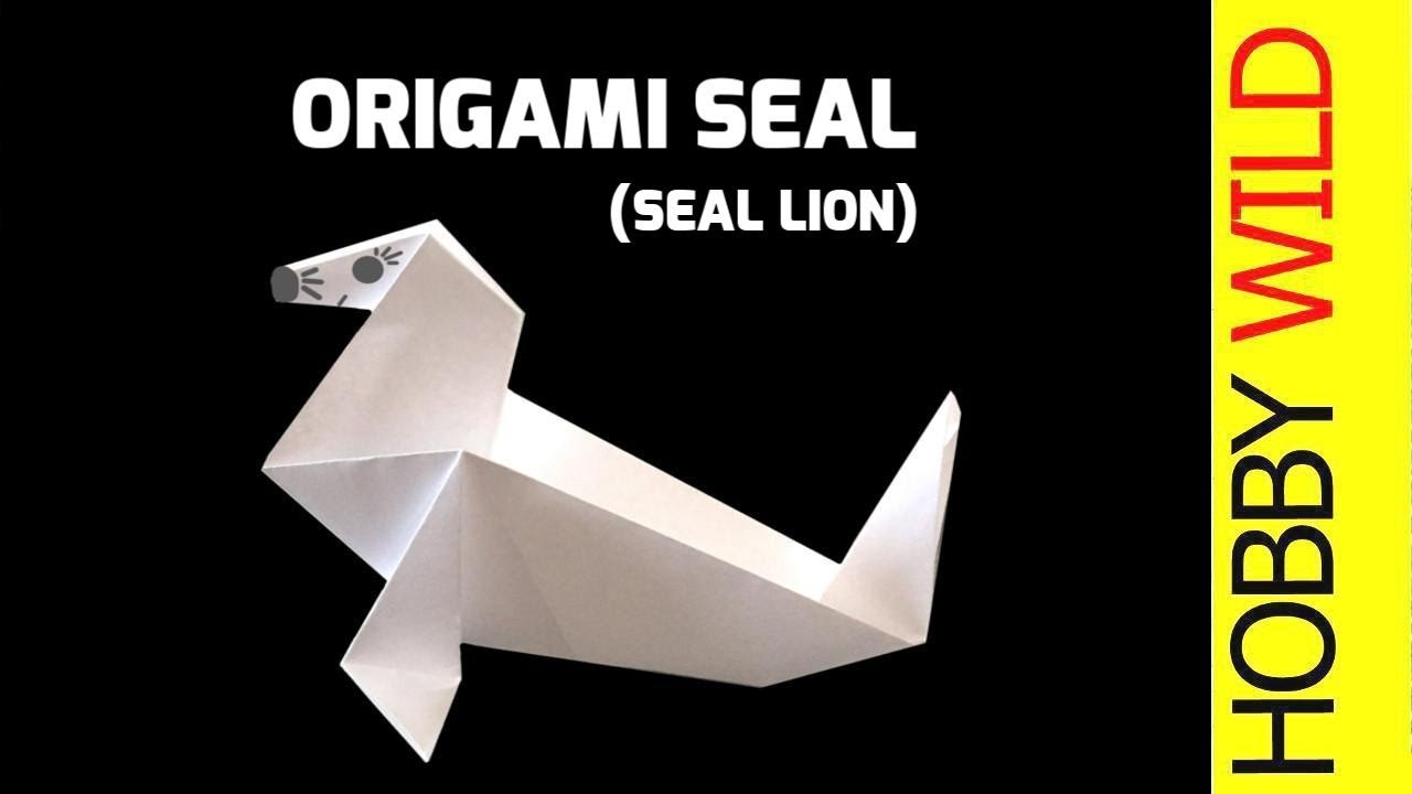 How to make a paper seal sea lion origami youtube how to make a paper seal sea lion origami jeuxipadfo Gallery