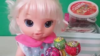 Baby Alive'nin Şekerleri Eğlenceli Videolar