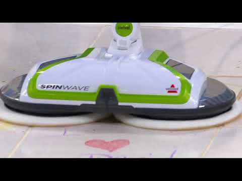 Bissell SpinWave Powered Hard Floor Rotating Mop On QVC