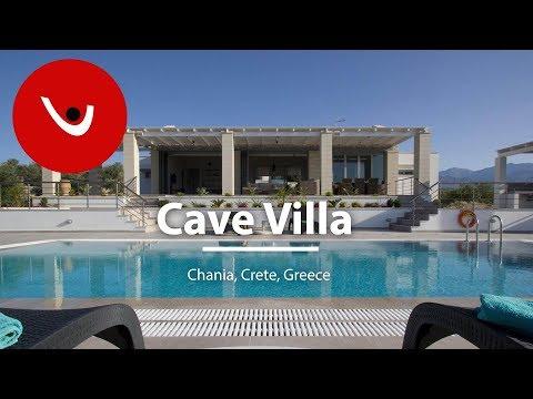 Cave Villa to Rent in Chania Crete Greece | Unique Villas | uniquevillas.gr