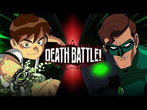 Ben 10 Vs Green Lantern (Cartoon Network VS DC Comics) | DEATH BATTLE!