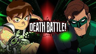 Ben 10 vs Green Lantern (Cartoon Network VS DC Comics) | DEATH BATTLE