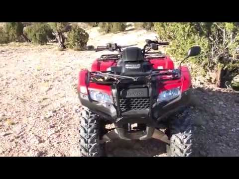 vid   kenda bearclaw front tires  honda rancher  dct eps youtube