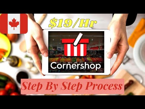 Cornershop Grocery Delivery App | Step By Step Guide | Realtime earning | By Everything essential