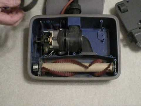 how to replace a belt on an oreck vacuum