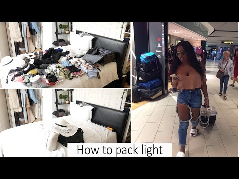 How I pack over 100 items in my Hand luggage (Carry on)