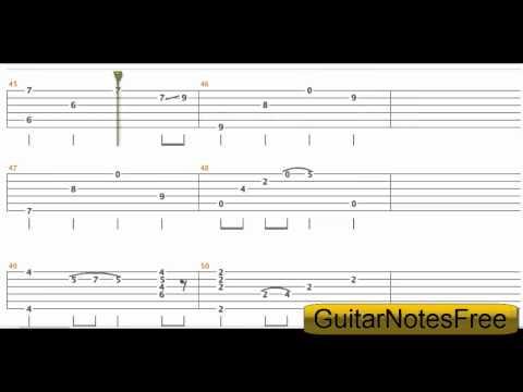 Tears In Heaven - Sungha Jung Guitar Tab HD