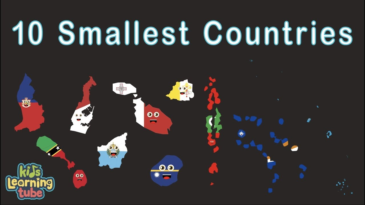 Smallest Countries/Smallest Countries in the World