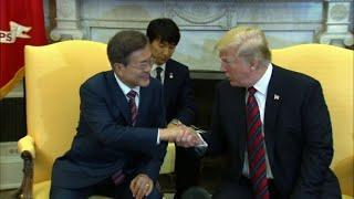 Trump évoque un possible report du sommet avec Kim Jong Un