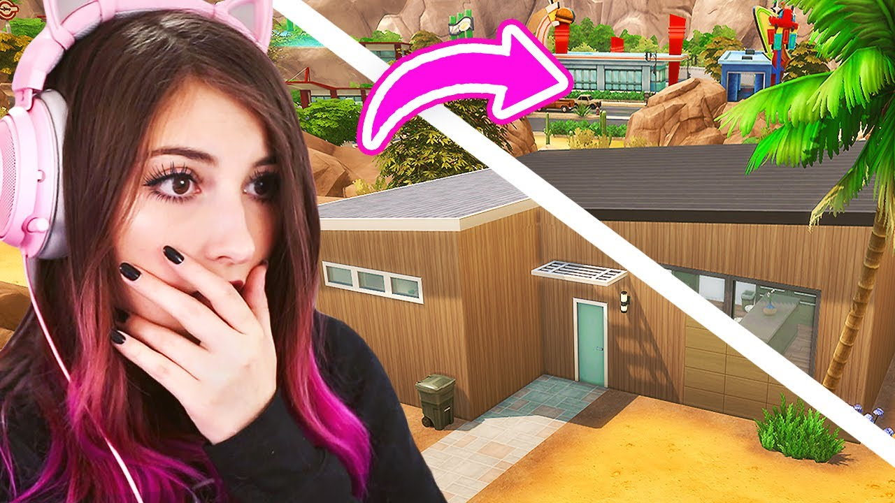 Can I Renovate this House in ONLY 10 Minutes...in Sims 4?