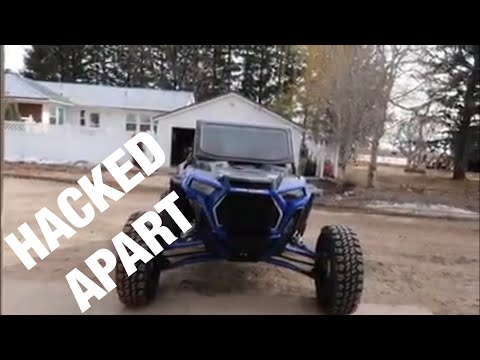HACKING UP A CUSTOM CAGE FOR MY 2019 POLARIS RZR XP TURBO S