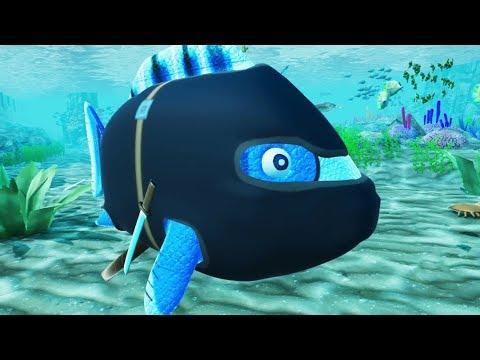 NINJA FISH! - Fisherones Gameplay Part 1 | Pungence