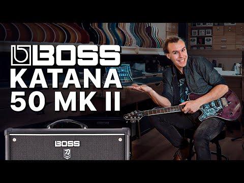 BOSS Katana-50 MK2. Просто лучший комбик | Gitaraclub.ru