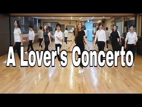 A Lover's Concerto- Line Dance (High Beginner )Stella Kim