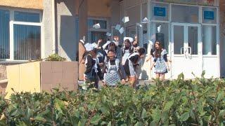 Выпускной город Семей 11 школа 2016 год