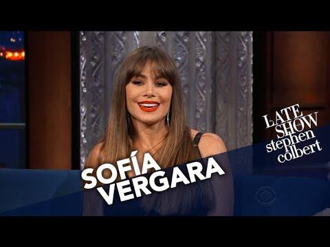 Sofía Vergara Gives Stephen Her Underwear. http://bit.ly/2lJuCee