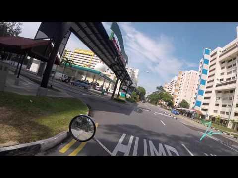 GoPro Hero 5 Session Test Footage - Helmet Mount