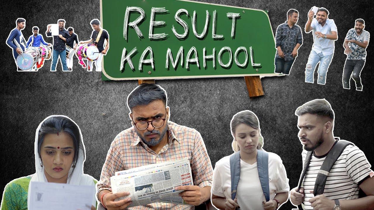 Result Ka Mahool - Amit Bhadana