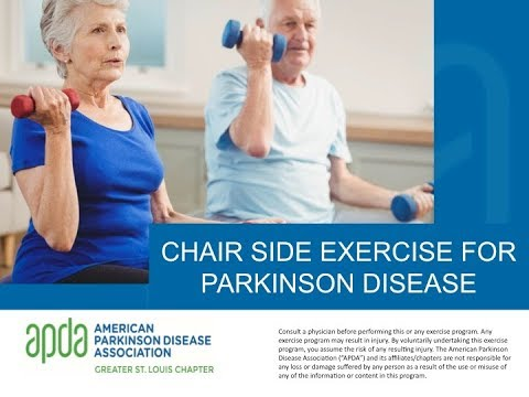 Level 1 Exercise (Seated) for Parkinson Disease - Jan 22, 2018