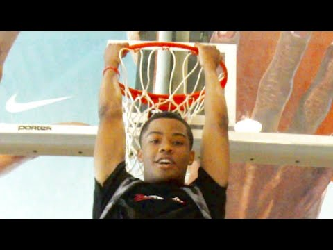 """6'5 Cassius Stanley TAKES OFF at """"The Culture Run"""" WORKOUT & Scrimmage"""