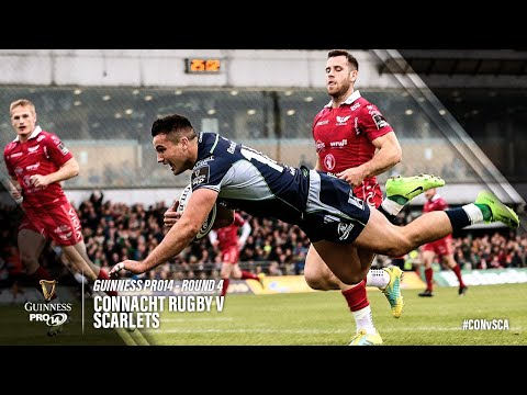 Guinness PRO14 Round 4 Highlights: Connacht v Scarlets
