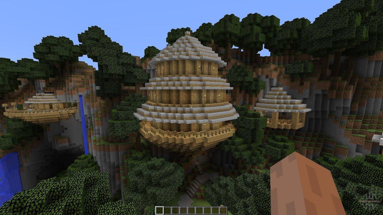 Kerajaan Bukit!! Jomain map minecraft Mountain village