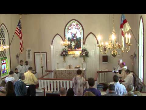 Bishop's Visit - May 17 2015 - St. Andrew's Episcopal Church, Yaphank, NY
