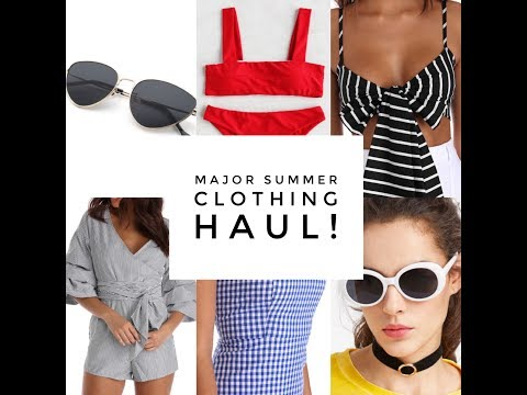 Summer Clothing Haul (Windsor, ASOS, SheIn, Nordstrom, Morphe x Jacklyn Hill, and mo